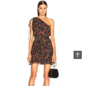 NWOT Veronica Beard Ballard One Shoulder Dress - 2